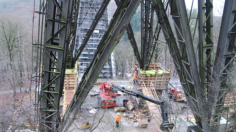 Müngstener Brücke Solingen Remscheid Los Ii Tiefenbach Gruppe